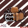 Assorted Black Brown White Paracord Belt