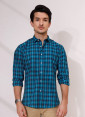 ACE 70117A (S21) Men Casual Shirt F/s S Green