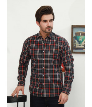 ACE 70109G (S21) Men Casual Shirt F/s B Red