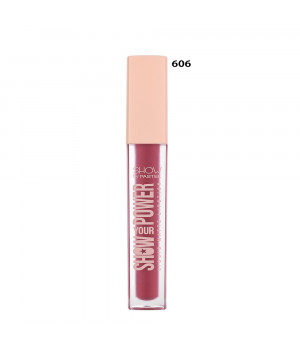 Show Your Power Liquid Matte Lipstick 606
