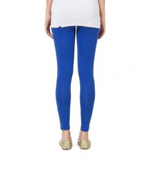 Blue Viscose Churidaar Tights For Women