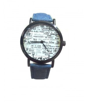Blue - Denim - Analog Watch For Her