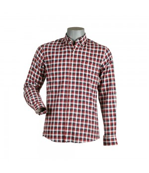 ACE 70013 (W19) Men Casual Shirt F/s D Red