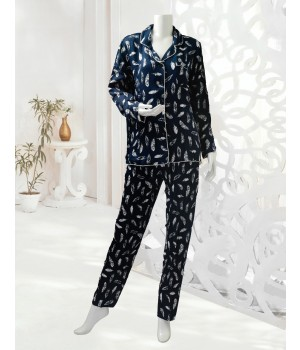 Sug Flourish FL201152 (S20) L Night Suit N Blue