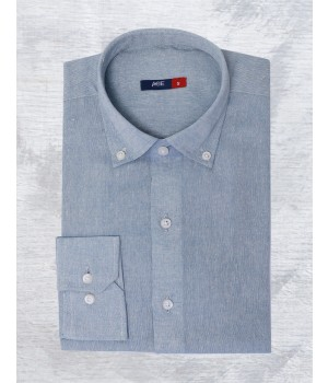 ACE 70087 (W20) Mens Casual Shirt F/s A Blue