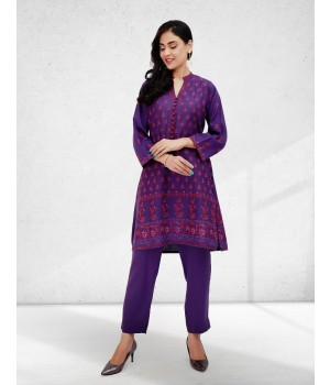 ACE 90020 (W20) Ladies Suit 2p Purple