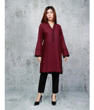 ACE 13075 (W20) Ladies Kurti D Purple