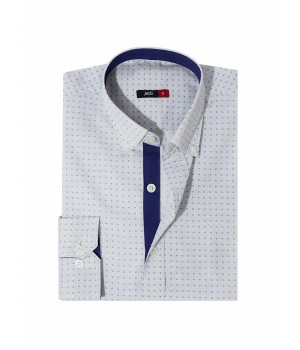 ACE 70039 (W19) Mens Casual Shirt F/s L Blue