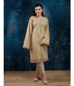 ACE 10044A (S20) Ladies Kurti Yellow