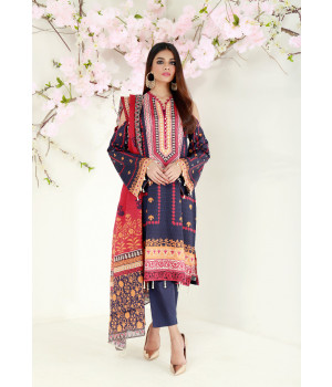 ACE 11069 (S21) Digital Printed Lawn 3 Piece