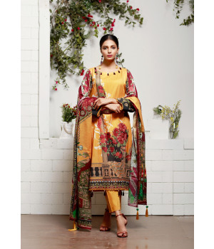 ACE 11081 (S21) Digital Printed Lawn 3 Piece