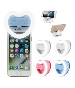 Heart Selfie Light and Mobile Stand