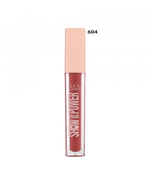 Show Your Power Liquid Matte Lipstick 604