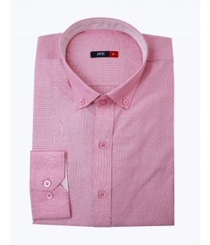 ACE 70045 (S20) Mens Casual Shirt F/s Pink