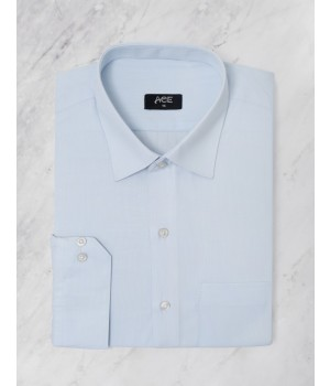 ACE 15036 (S20) Mens Formal Shirt L Blue