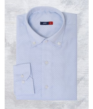 ACE 70089 (W20) Mens Casual Shirt F/s L Blue